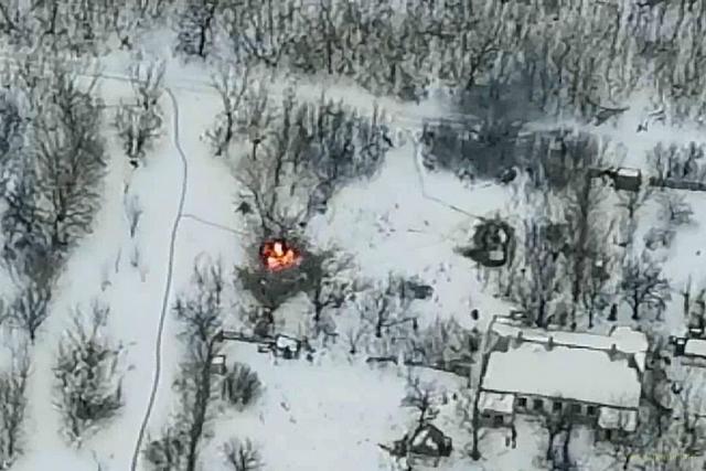 Підрозділ Нацгвардії знищив бойову броньовану машину ворога