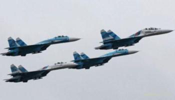 Четыре реактивных самолета над Донбассом зафиксировала ОБСЕ
