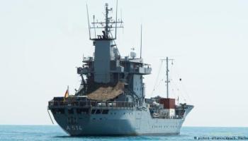 Немецкая плавучая военная база Werra войдет в Черное море