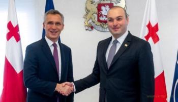 НАТО помогает Грузии готовиться к членству в Альянсе