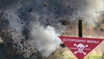 На Донбассе террористы подорвались на собственном минном поле