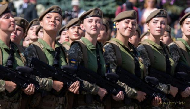 В Україні понад 12 тисяч жінок є ветеранами бойових дій на Донбасі