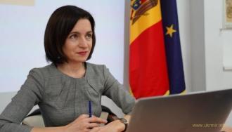 Президент Молдовы выступила за вывод российских оккупантов