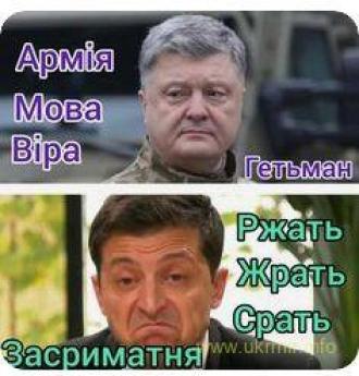 У нас є один вибір – або Гетьман здорового українця, або вірус хворих мавп