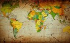 World-Map-on-Old-Grunge-Paper