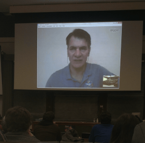 Surprise Skype call with Italian ESA Astronaut, Paolo Nespoli.
