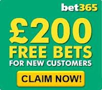 Click here to get your £200 bet365 financials betting bonus