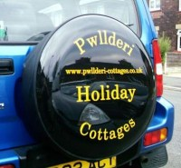 Cut Vinyl Wheel Cover