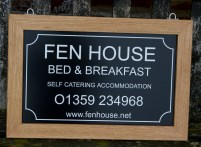 Hanging House Sign