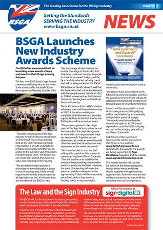 BSGA Newsletter Issue 53