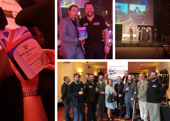 Roland Users Celebrate Their Craft at the 2018 British Sign Awards