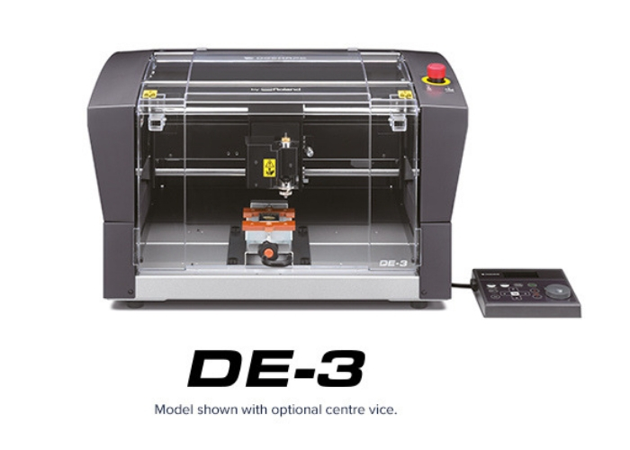 DGSHAPE RELEASES LATEST GENERATION DE-3 DESKTOP ENGRAVER TO EXPAND ITS DECORATING LINE OF PRODUCTS