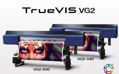 New Roland DG TrueVIS VG2 Printer/Cutters with TR2 Ink Are Now Approved for the 3M MCS Warranty Program