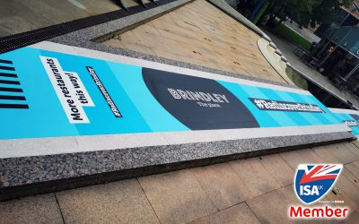 ISA-UK Member, Drytac's Polar Street FX is used to transform busy Birmingham meeting place