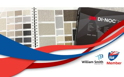 ISA-UK Member William Smith leads the way in architectural wraps – 500 3M DI-NOC patterns now in stock
