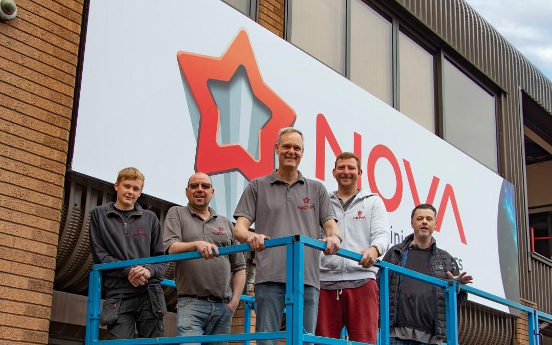 ISA-UK Member Nova Aluminium Systems has introduced new branding