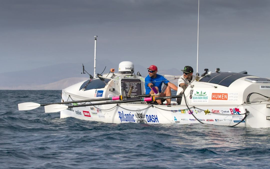 ISA-UK member Drytac sets sail with Monkey Fist in Atlantic Dash extreme endurance challenge