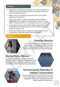 Sample Project: Nature Reserves at Sea (p2)