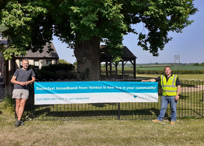 Voneus Switches on Superfast broadband in Somerset villages of Wanstrow and Batcombe