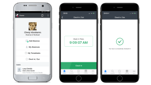 Cezanne HR adds mobile clocking in and out to their digital time tracking options