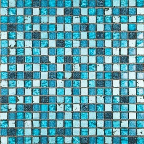 cr ce decor topaz bright marble glass mosaic tiles 305x305x8mm 09080
