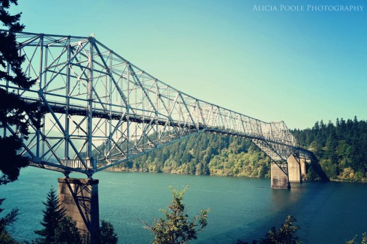 Twilight, Cascade Locks, OR - Bridge Of The Gods 1