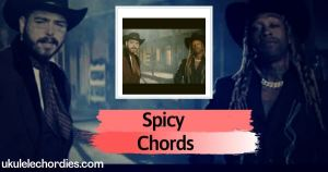 Spicy Ukulele Chords by Ty Dolla $ign feat. Post Malone
