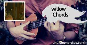 willow Ukulele Chords by Taylor Swift