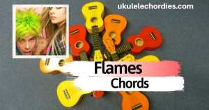 Flames Ukulele Chords by MOD SUN Feat. Avril Lavigne