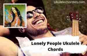 Lonely People Ukulele Chords By Demi Lovato