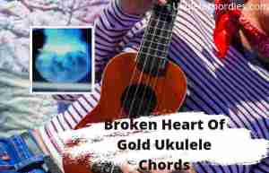 Read more about the article Broken Heart Of Gold Ukulele Chords By ONE OK ROCK