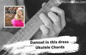 Read more about the article Damsel In This Dress Ukulele Chords By Gray Robinson