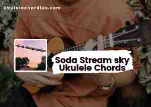 Read more about the article Soda Stream Sky ukulele Chords by Powfu ft. Known.