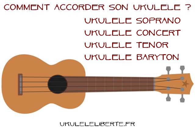comment accorder son ukulele