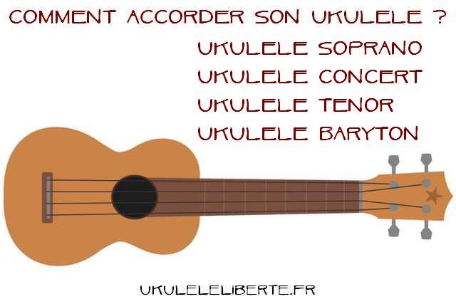comment accorder son ukulele