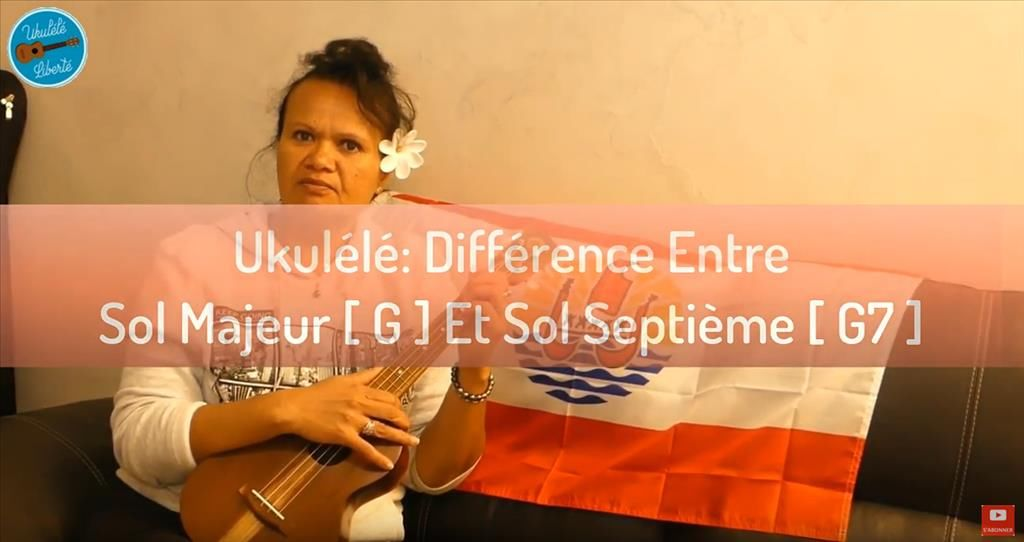Différence entre Sol et Sol 7 au Youkulélé