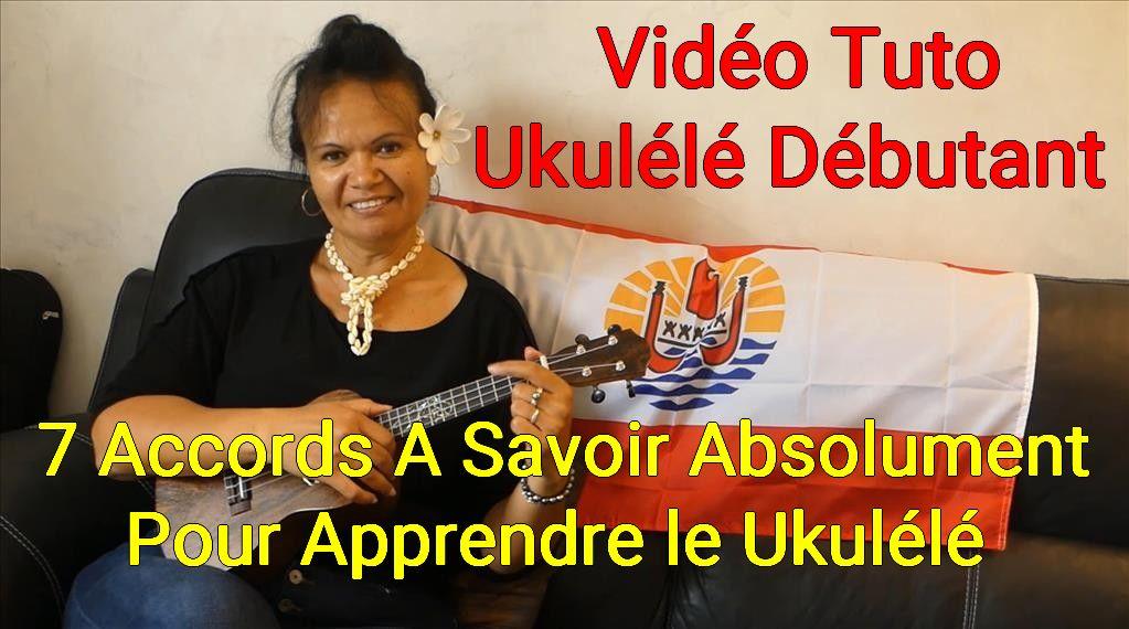 7 Accords Ukulele pour les Débutants