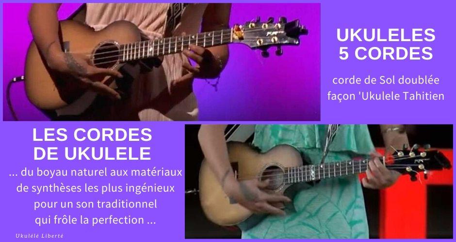 ukuleles 5 cordes