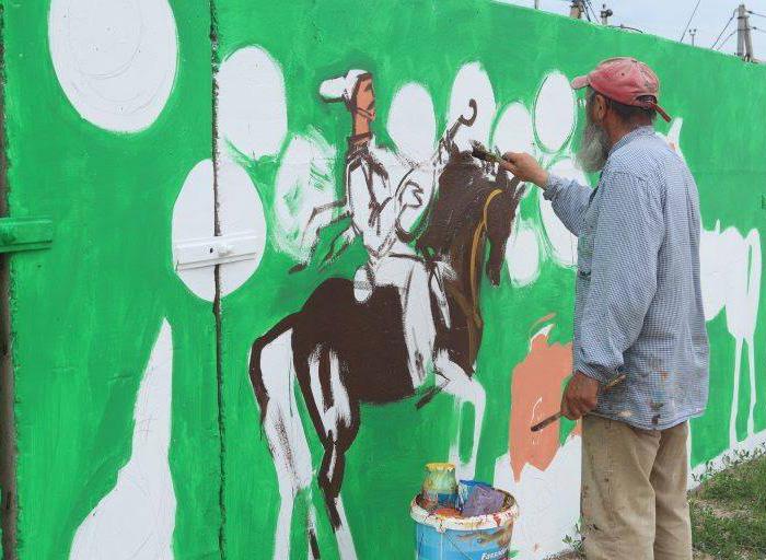 Митець створює нові картини. Фото надані автором