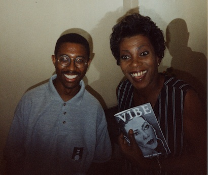 When ukvibe met with Carmen Lundy at The Jazz Cafe