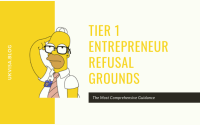 Tier 1 Entrepreneur Rejection Reasons and Refusal Grounds