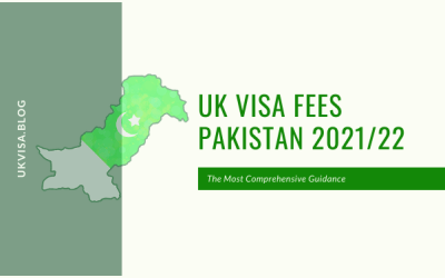 How much is the UK Visa Application Fee 2021 in Pakistan?