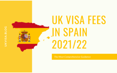 UK Visa Fees Requirements and FAQs for Spanish Citizens 2021