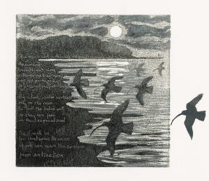 Curlew Moon selected for Wildlife Artist of the Year 2021