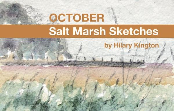 October salt marsh sketches