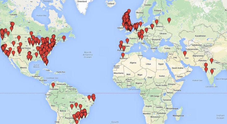 Ulabscot world map - 27 Sept 2015