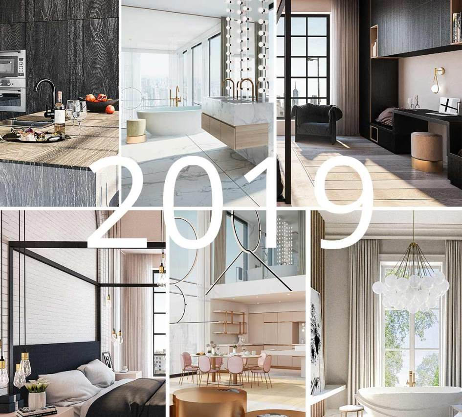 Interior Design Trends 2019: Interior Design Trends 2019