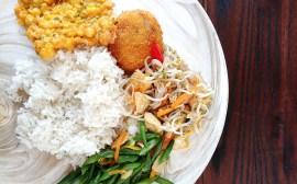 Plat indonésien Canggu