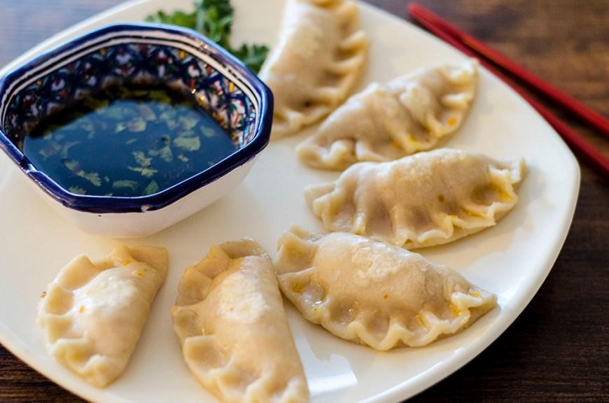 Dumplings végétariens