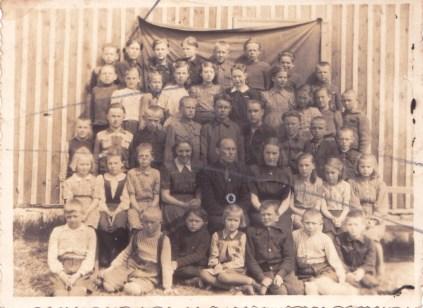 Rahuste kool Pärtli ca 1949